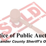 ACSO Public Auction