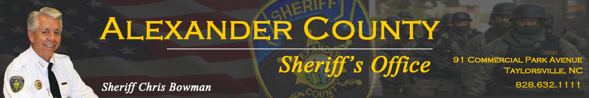 Detention – Alexander County Sheriff's Office